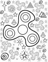 Fidget Spinner Coloring Spinners Printable Teachers Pay Colouring Teacher Colour Sheets Toy Teacherspayteachers Grade sketch template