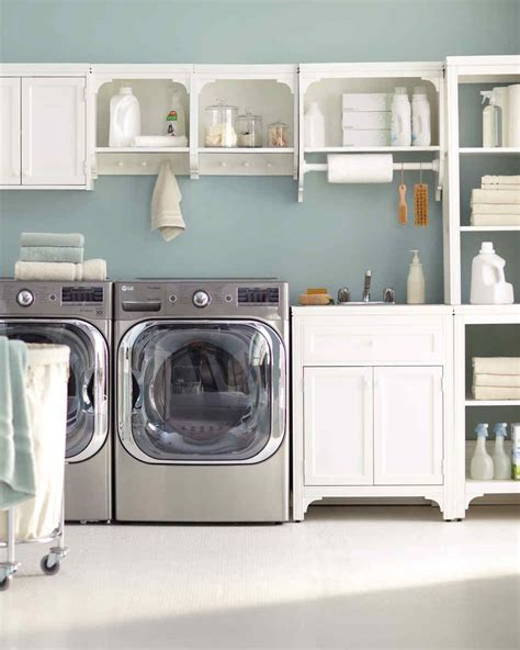 essential laundry room organizing tips martha stewart