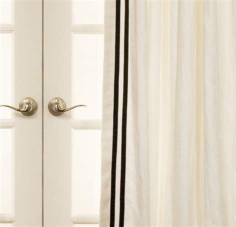 grosgrain ribbon trimmed drapes on sale drapestyle 800
