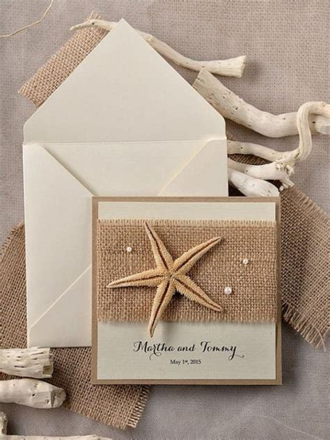 cute burlap wedding invitation ideas weddingomania