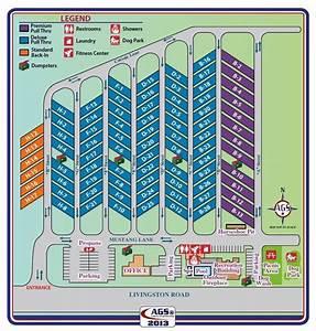 Rv Park Site Map
