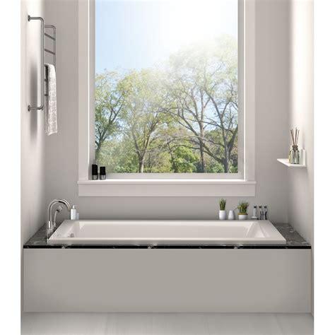 drop in bathtub fixtures drop in bathtub 32 quot x 48 quot soaking bathtub