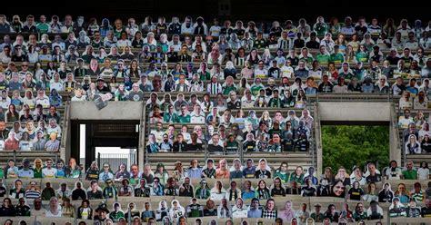 borussia moenchengladbach fans fill borussia park