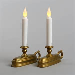 lights flameless candles window candles white 9 quot flameless window candle set of 2