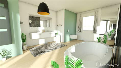 essai  une salle de bain au vert le journal de la maison