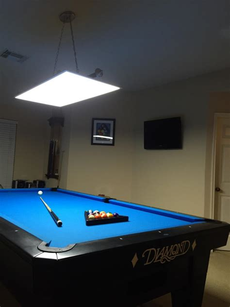 10 ft pool table led panel lights for 7 8 9 10 ft pool and billiard tables