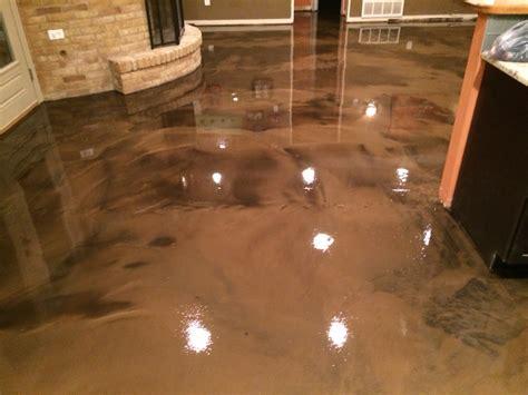 epoxy flooring colors metallic epoxy floor in coffee color abilene texas epoxy flooring pinterest epoxy