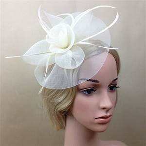 aliexpresscom buy new elegant lady women fascinator hat With robe de cocktail combiné avec chapeau fille