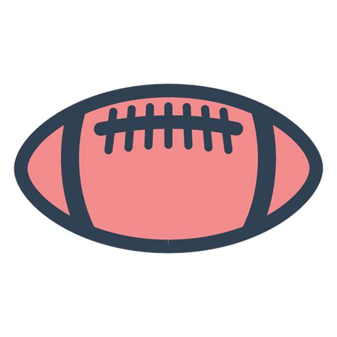 Original file  (svg file, nominally 510 × 400 pixels, file size: American football ball - Transparent PNG & SVG vector file