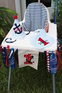 Free 1st Birthday Invitation Kara 39 S Party Ideas Nautical 1st Birthday Party