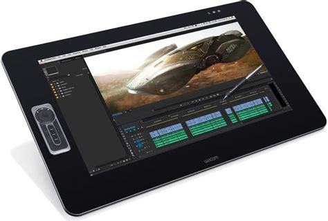 wacom tablet cintiq tablets touch pen 27qhd display drawing 2700 android 3d graphics dtk animations computer january creative amazon