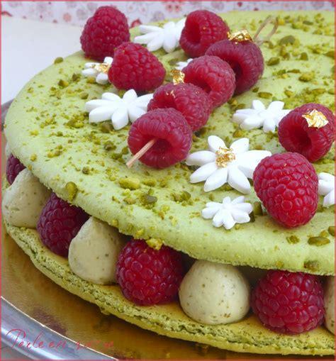 regal cuisine macaron géant framboise pistache blogs de cuisine