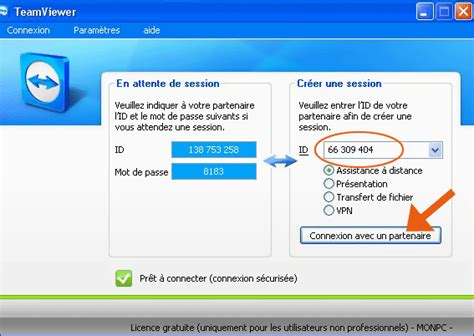connexion bureau à distance sans mot de passe teamviewer se connecter à distance à un ordinateur