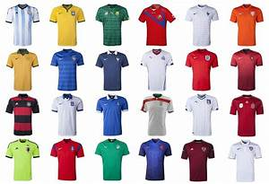 All 32 Home & Away World Cup 2014 Team Kits