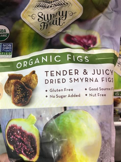 sunny fruit organic dried smyrna figs harvey  costco