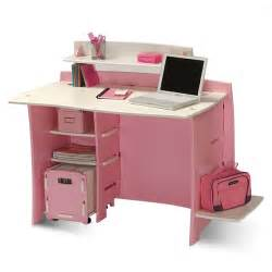 no tools assembly pink white desk walmart com