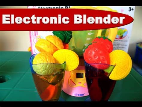 Playset Electronic Blender by Kitchen Playset Electronic Blender Playset Toys