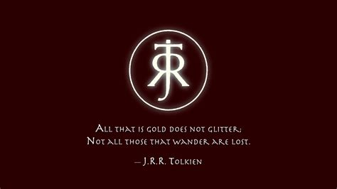 Quote Wallpaper by J R R Tolkien Quote Hd Wallpaper Background Image