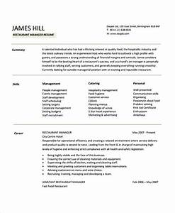 Restaurant Manager Resume Template - 6+ Free Word, PDF ...