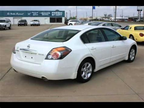 nissan 2008 white 2008 nissan altima white emporia ks youtube