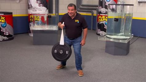 Flex Tape Boat In Half by Flex Tape Extreme Tape Instantly Fixes Cracks Holes