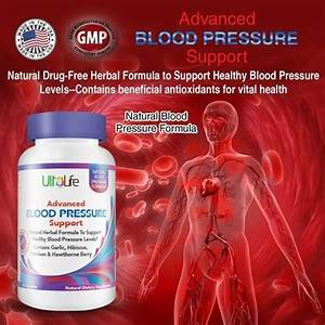 UltraLife Advanced Blood Pressure Support 60pcs Hypertension Natural Supplement - eBay  Hypertension Hawthorn