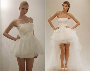beautiful styles of short white wedding dresses With white short wedding dress