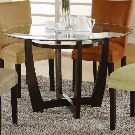 black table base for glass top black stained walnut wood pedestal for round glass top