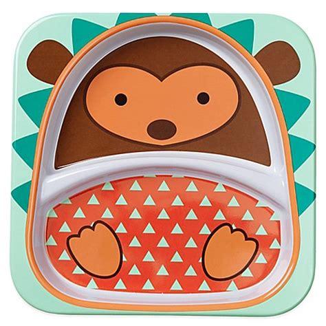 assiette la chaise longue skip hop zoo divided plate in hedgehog bed bath beyond