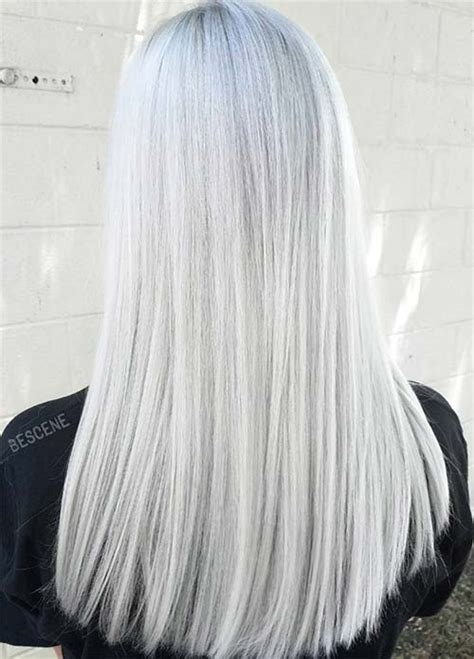 Hair Color White by 85 Silver Hair Color Ideas And Tips For Dyeing