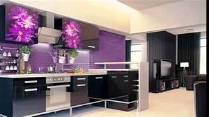 Lila kuche youtube for Küche lila