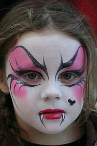 Vampir Schminken Kind : 10 halloween makeup ideas for kids ~ Frokenaadalensverden.com Haus und Dekorationen