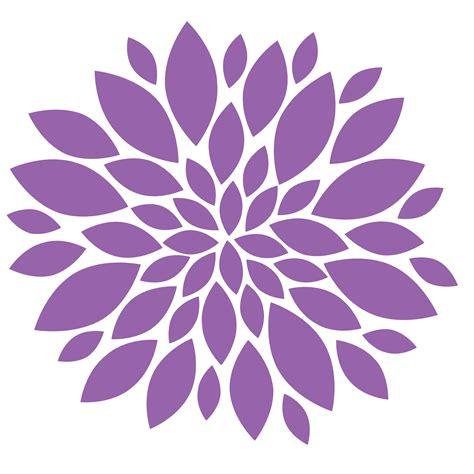 Purple Clipart Purple Flower Clipart Clipground