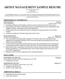 resume of artist archives helpercoach