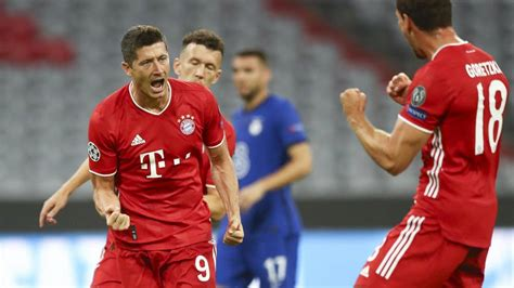 Bayern Munich 4-1 Chelsea (7-1 Agg): Lewandowski on the ...