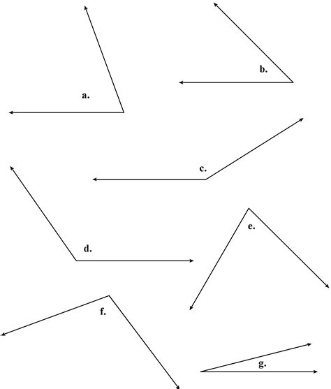 measuring angles protractor worksheets worksheets for all