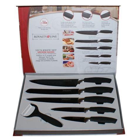 set couteaux de cuisine set de couteaux 6 pièces céramique royalty line