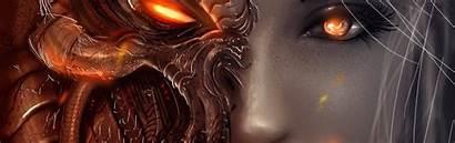Demon Devil Face Angel Wallpapers Phones Diablo