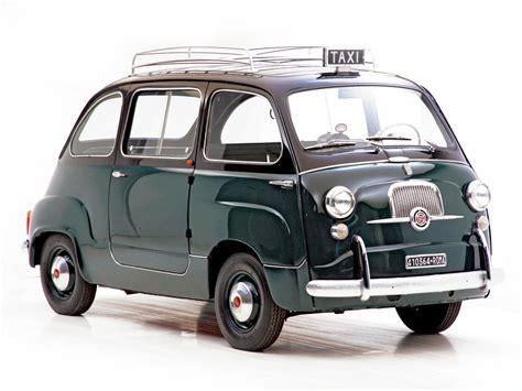 Fiat Multipla 600 by Cl 225 Ssico Da Semana Fiat 600 Multipla Autogaragem