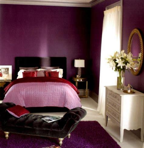 Luxus Lila Schlafzimmer  Einrichtungsideen Für Eitle Damen
