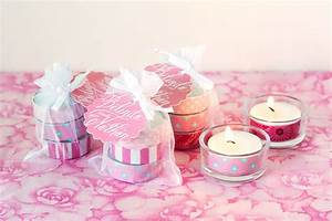 Washi Tape Tea Light Wedding Favors - Wedding Inspiration
