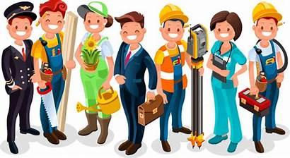 Job Korean Different Jobs Various Professions Example