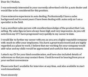 Auto dealer cover letter example learnistorg for Cover letter for car dealership