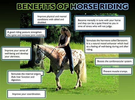 riding horse benefits horseback health mental stress horses uploaded user