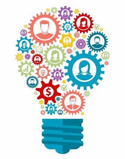 Idea Bulb Creative Lightbulb Clip Transparent Generation