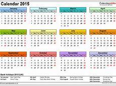 Calendar 2015 Editable – 2017 printable calendar