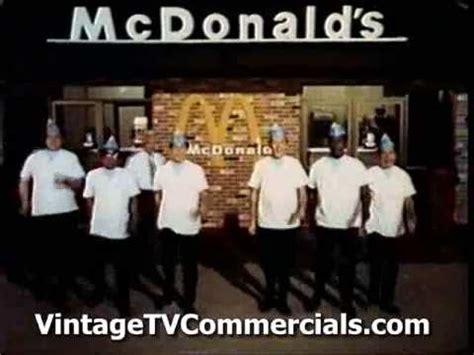 vintage  mcdonalds commercial jingle  anson williams