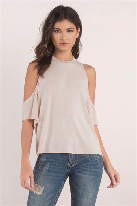 cold shoulder blouses blouse cold shoulder blouse 38 00
