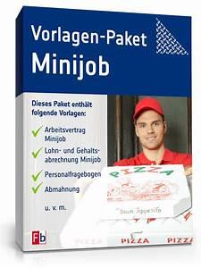 Abrechnung Kurzfristige Beschäftigung : arbeitgeber paket minijob de vorlage download ~ Themetempest.com Abrechnung