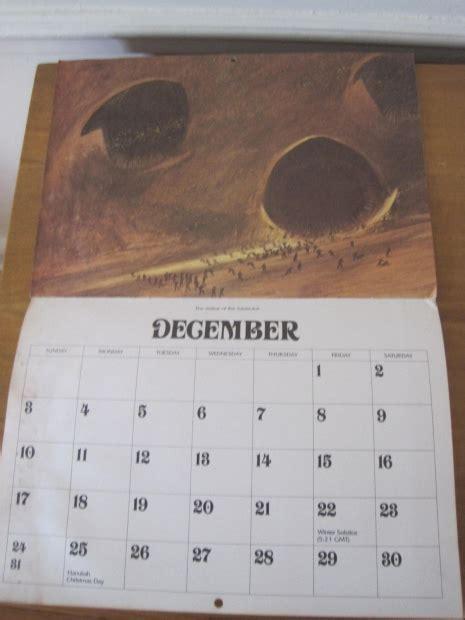 rare frank herbert dune calendar   works